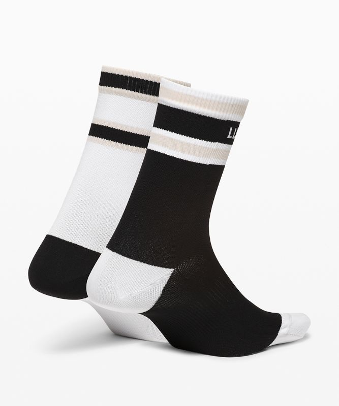 Tale To Tell Mid Crew Sock*2P