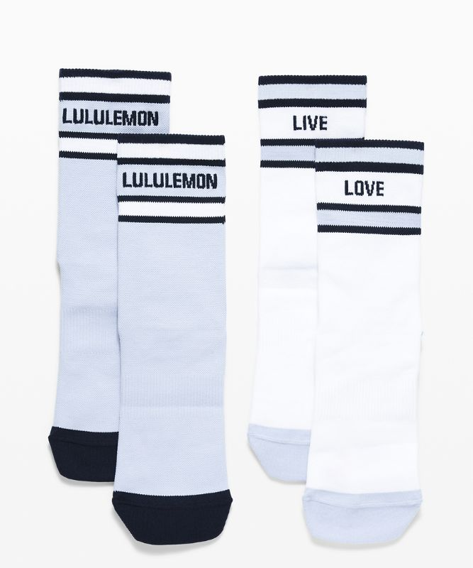 Tale To Tell Quarter Sock*2 Pack