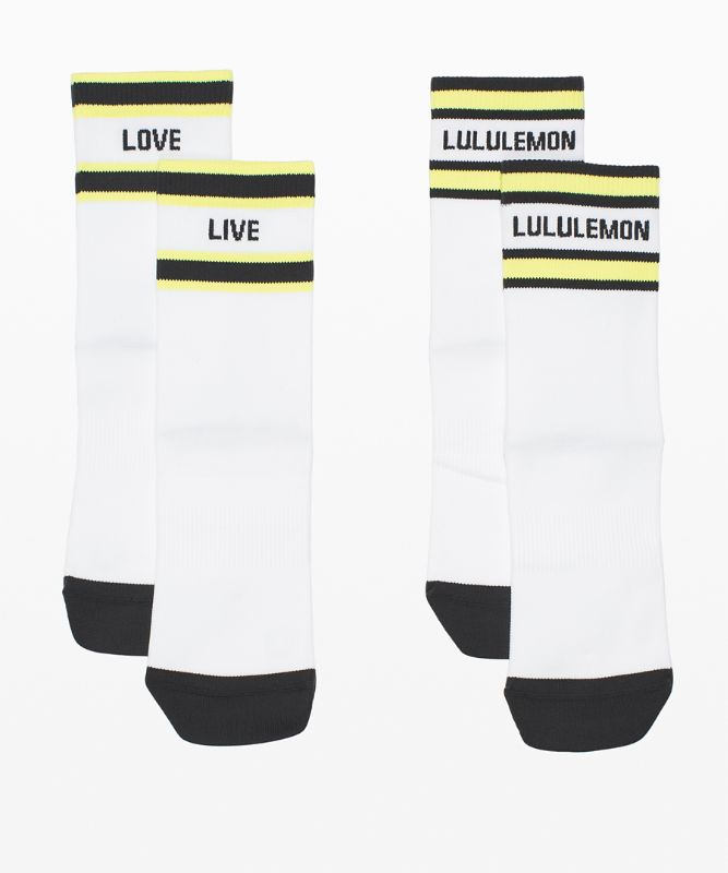 Tale To Tell Mid Crew Sock*2 Pack