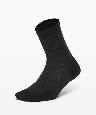 Speed Quarter Socken *Silver