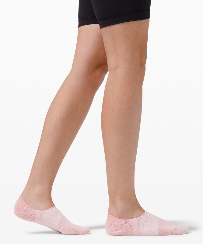 Power Stride No Show Sock Active Grip Wordmark Anti-Stink