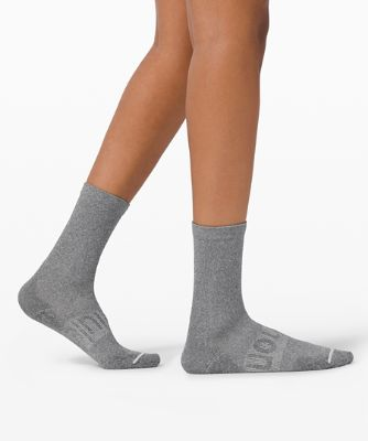 Power Stride Crew Socken