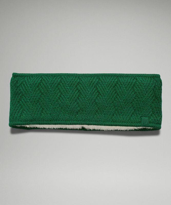 Chevron Knit Ohrwärmer
