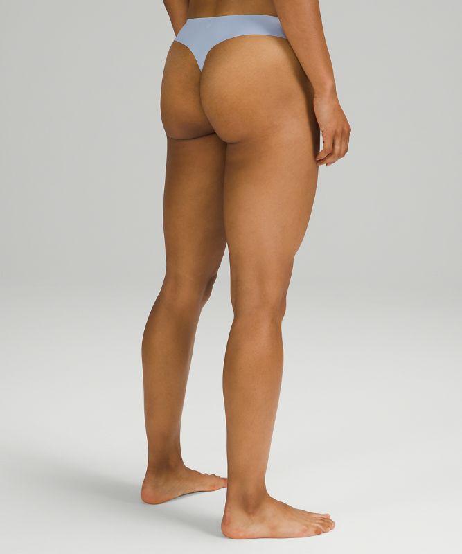InvisiWear Mid Rise Thong Underwear