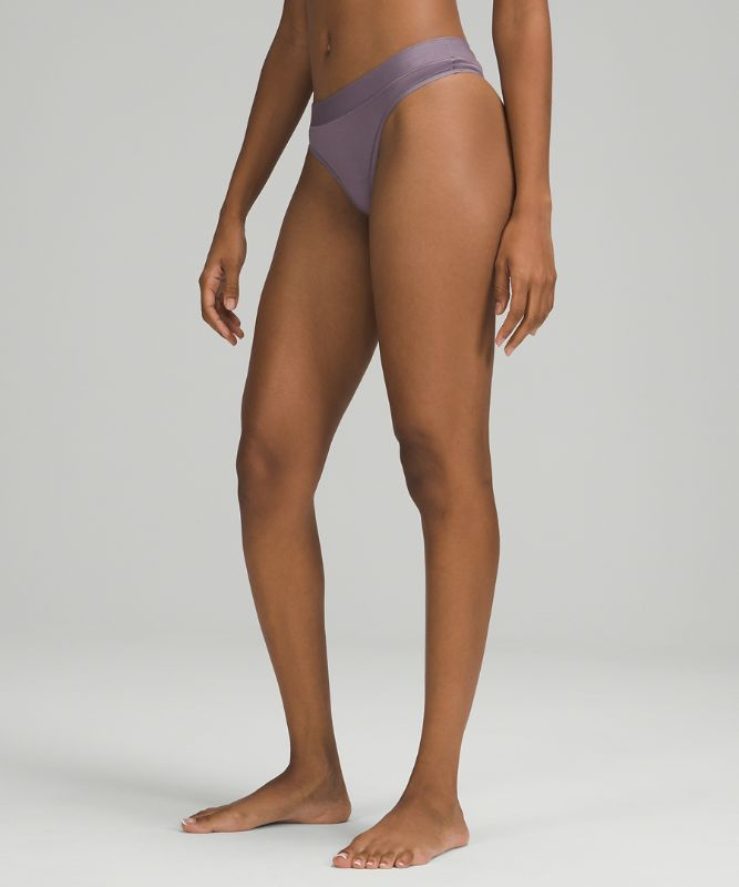 UnderEase Mid-Rise Thong Underwear