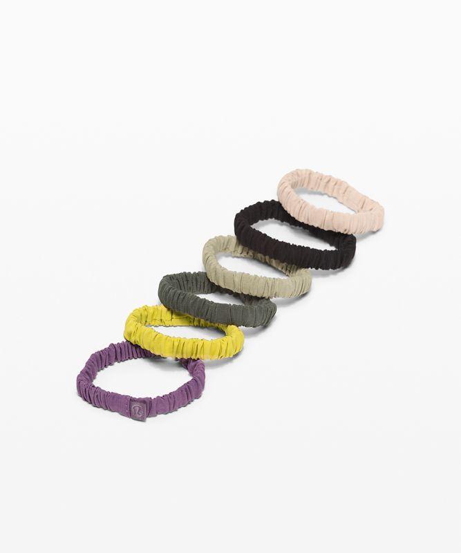 Skinny Scrunchie *6er-Packung