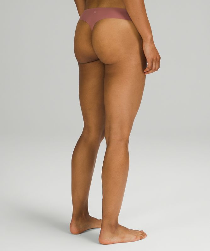 InvisiWear Mid Rise Thong Underwear 3 Pack