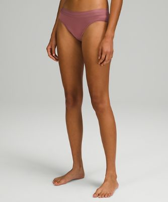 UnderEase Mid Rise Cheeky Bikini Underwear 3 Pack