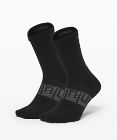 Power Stride Crew Sock *Anti-Stink 2 Pack