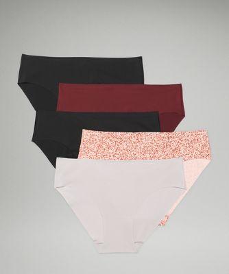 InvisiWear Mid Rise Bikini Underwear 5 Pack
