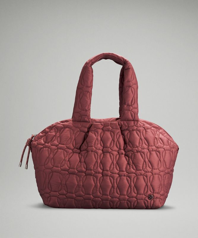 Quilted Embrace Tote