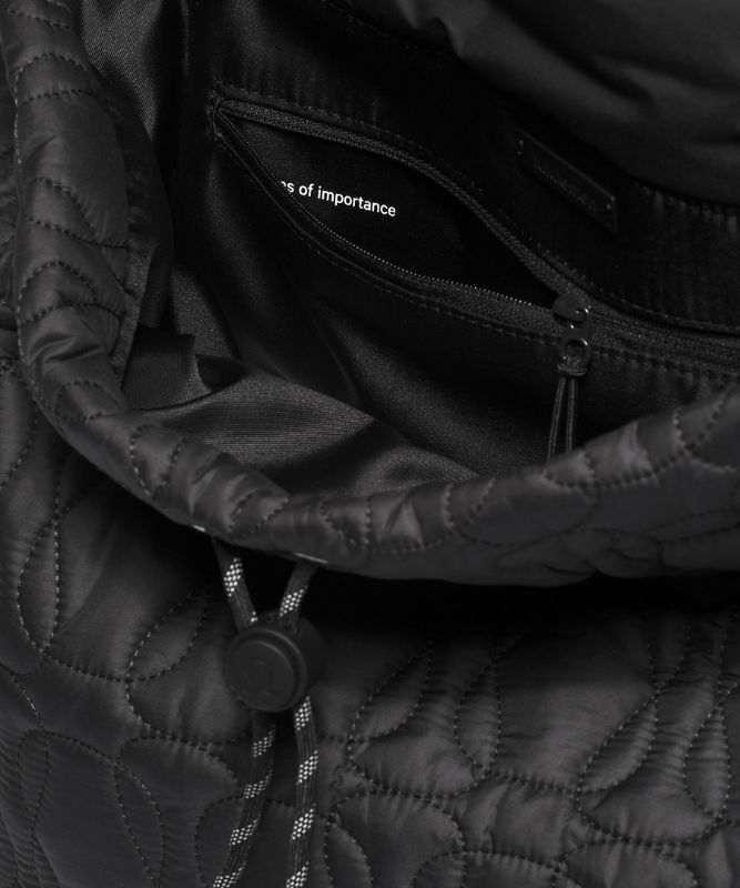 Quilted Embrace Backpack