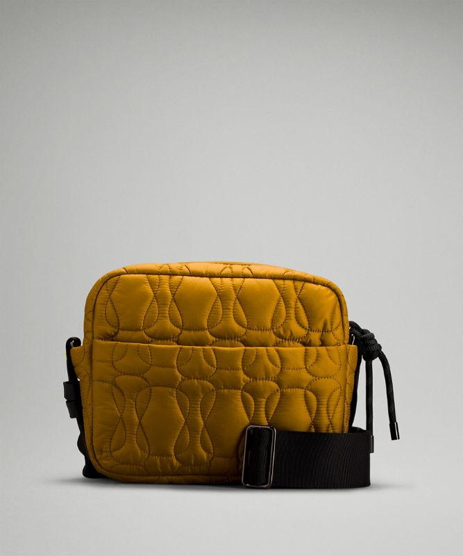 Quilted Embrace Crossbody Bag