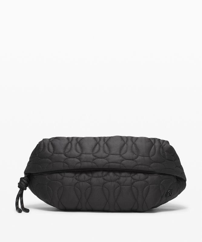 Quilted Embrace Belt Bag