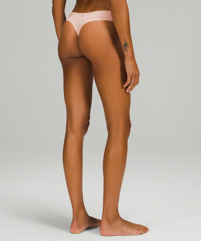 UnderEase Mid Rise Thong Underwear 3 Pack