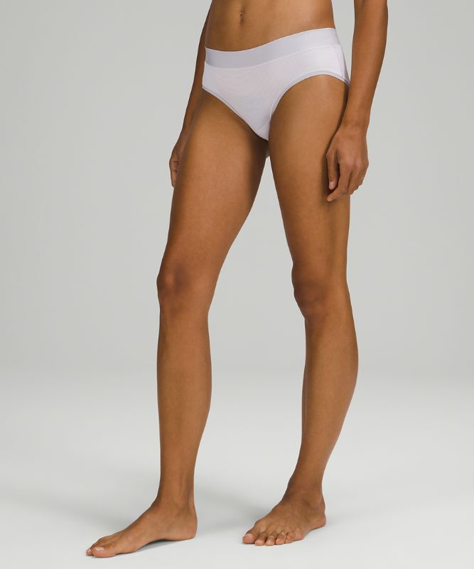 UnderEase Mid Rise Hipster Underwear 3 Pack