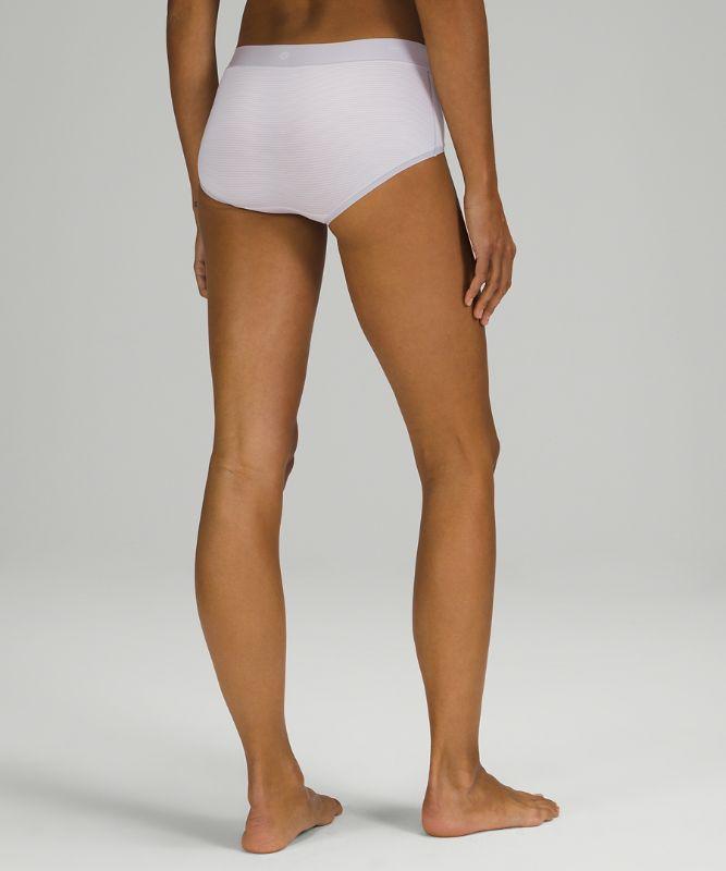 UnderEase Mid Rise Boyshort Underwear 3 Pack
