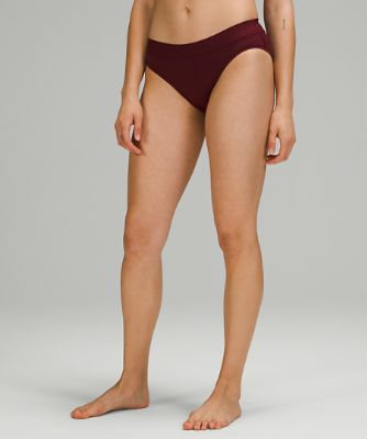 UnderEase Mid Rise Bikini Underwear*5 Pack Online Only