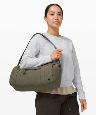 On My Level Barrel Bag