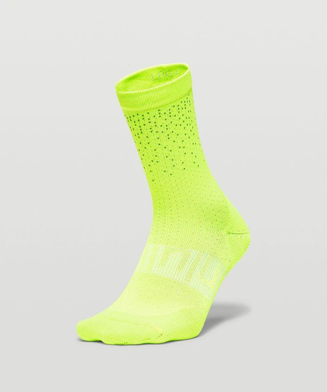 Power Stride Women's Reflective Crew Sock
