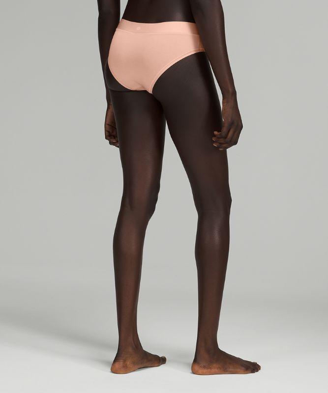 UnderEase Mid Rise Cheeky Bikini Underwear