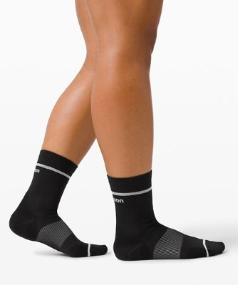 Power Stride Women's Crew Sock Stripe *2 Pack