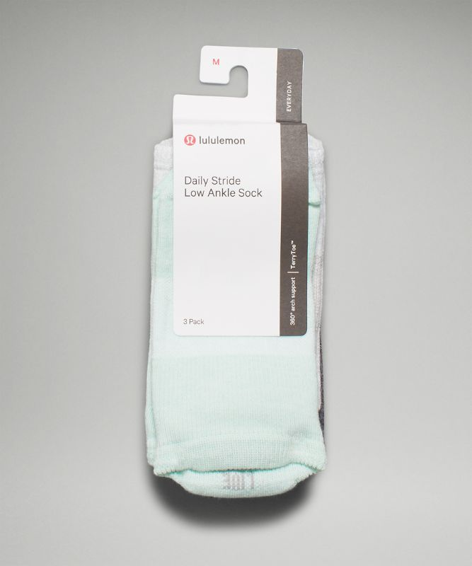 Daily Stride Low Ankle Sock *3P