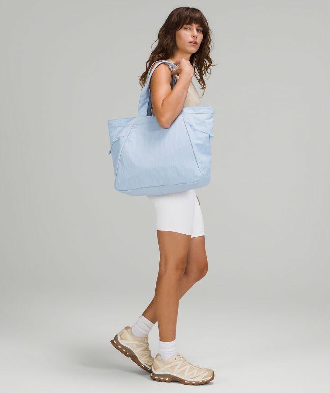 Side-Cinch Shopper Bag