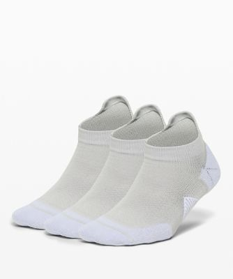 Speed Tab Sock *Silver 3P