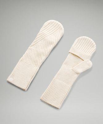 Twist Knit Mittens