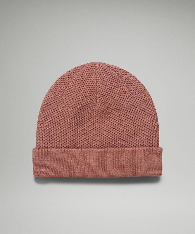 Fleece-Lined Knit Beanie