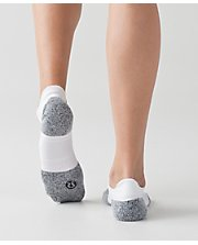 High Speed Sock WHT/BLK M/L