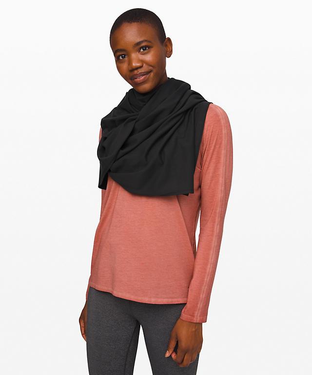 Vinyasa Scarf Rulu Womens Scarves Gloves Lululemon Athletica
