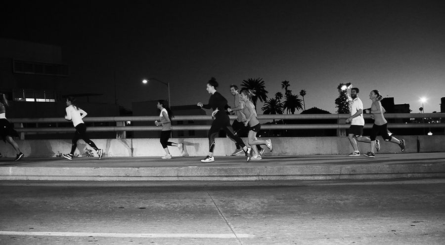 LA Night Run Crews
