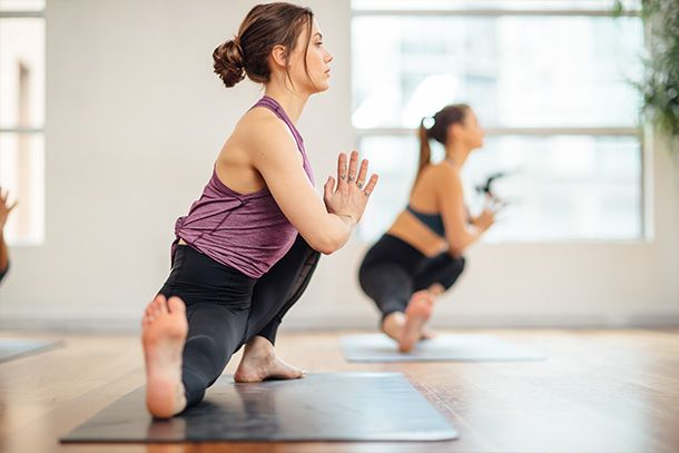 Yoga with Hot Yoganic