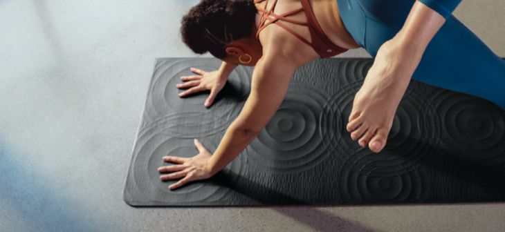 The yoga mat, re-invented.
