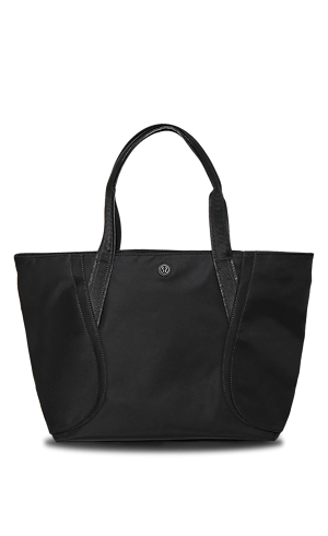 Black Over The Shoulder Tote