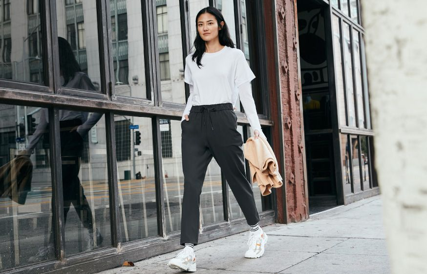 Elevated casual comfort