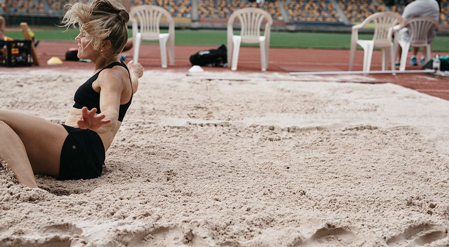 Success Is Fulfilment For Long Jumper Chelsea Jaensch
