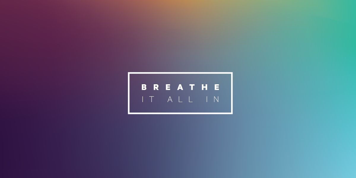 breathe it all in: a meditation series