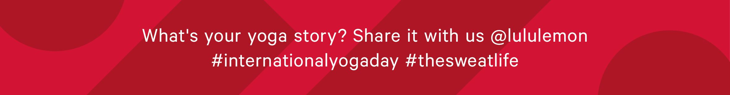 What's your yoga story?