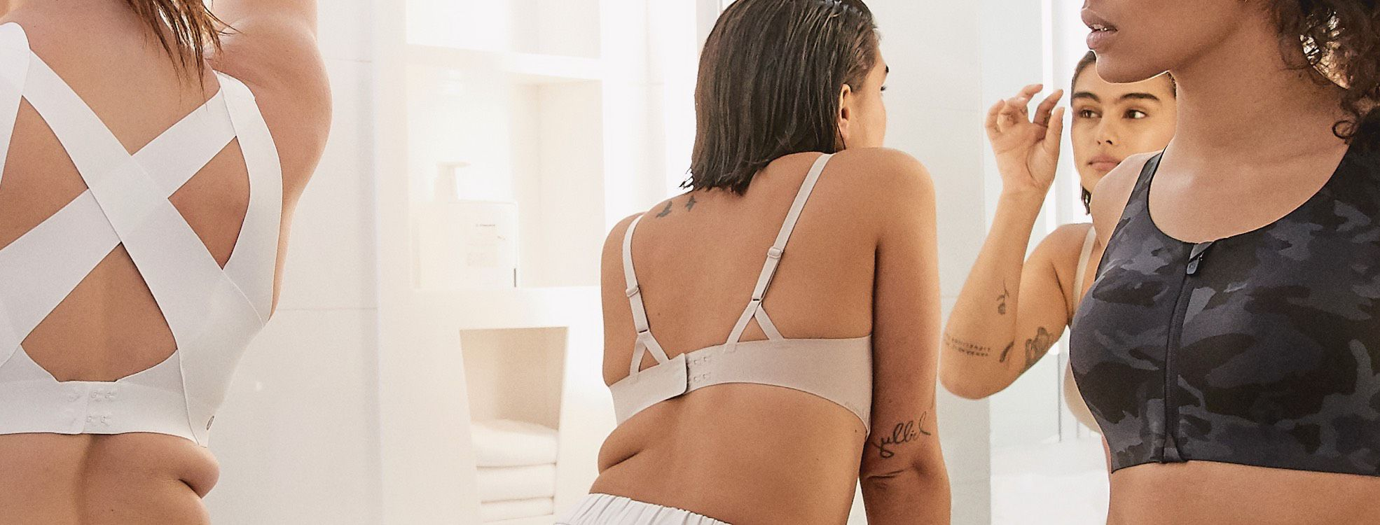10b74b49d1d3 Undercover comfortFind innovative bra and underwear designs with minimal  construction for maximum comfort.