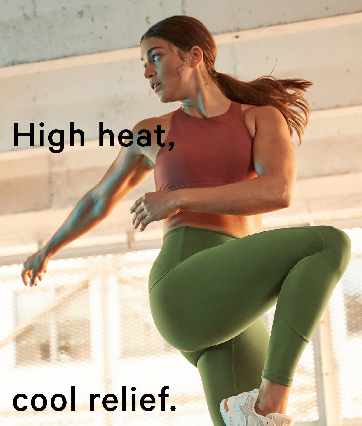 HIGH HEAT, COOL RELIEF