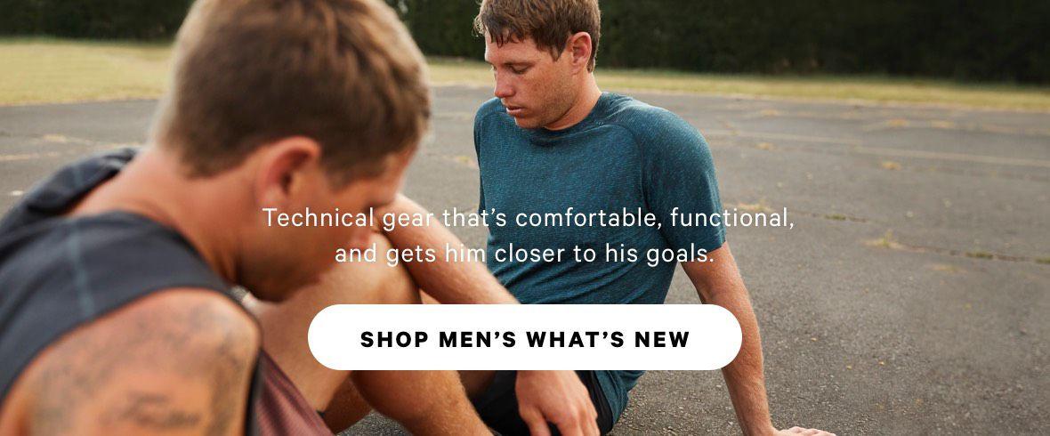 SHOP MEN'S WHAT'S NEW