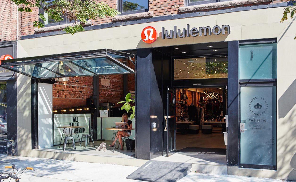 Lululemon Georgetown Store In Washington Dc
