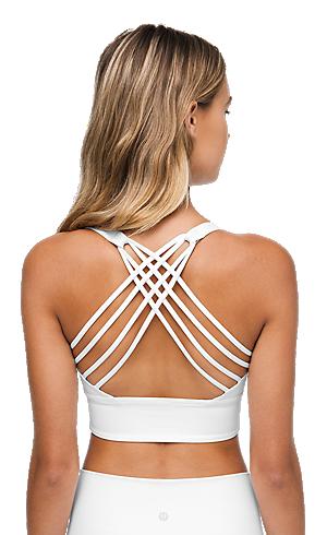 Designer Women/'s Active-wear Navy Sports-Bra With Multi Cross Back Straps