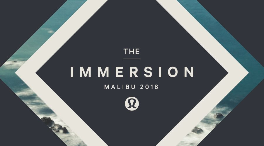 La retraite Immersion par lululemon