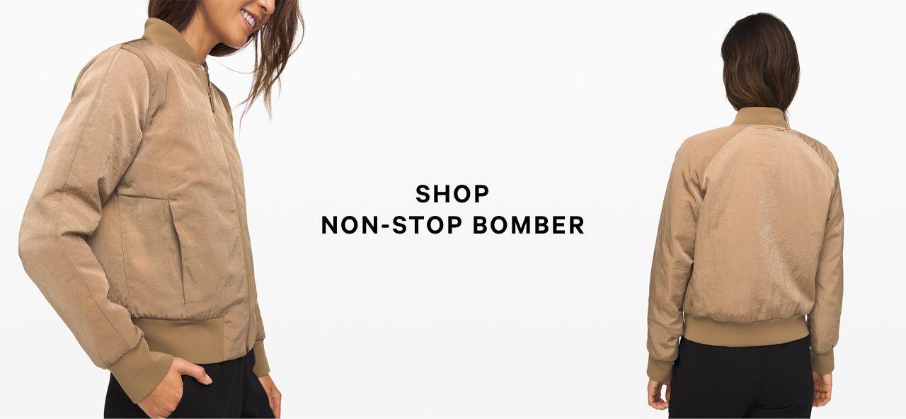 shop non-stop bomber