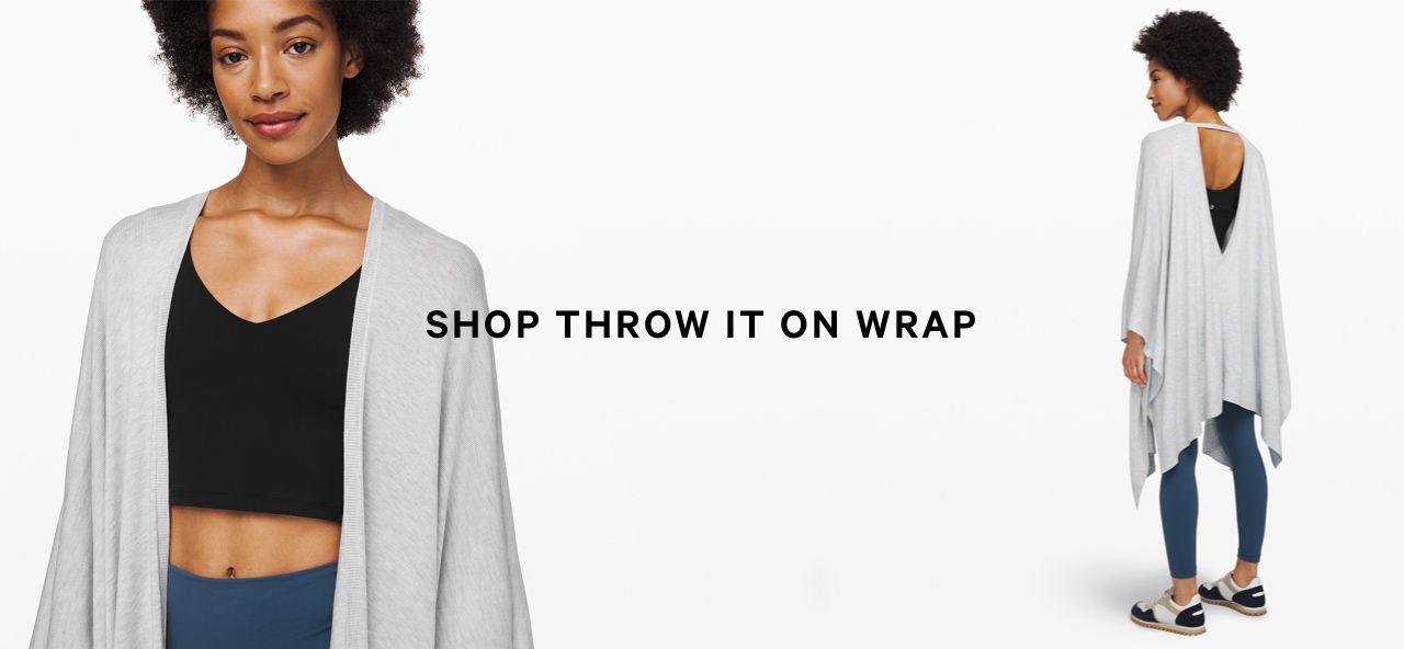 shop throw it on wrap