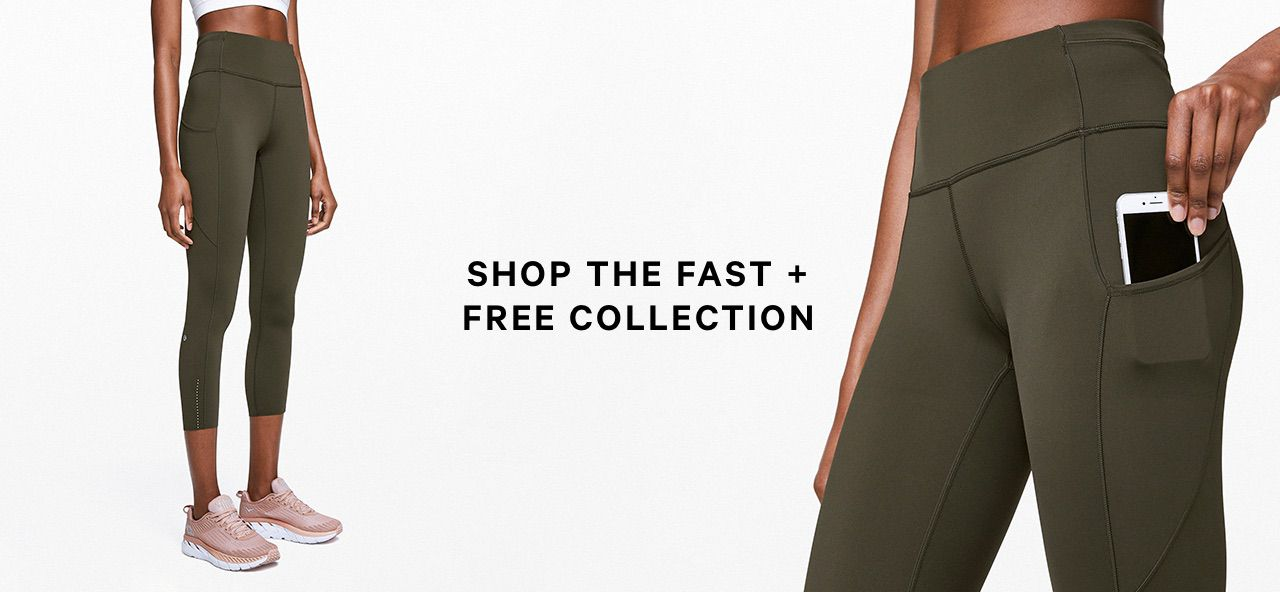 SHOP THE FAST + FREE COLLECTION